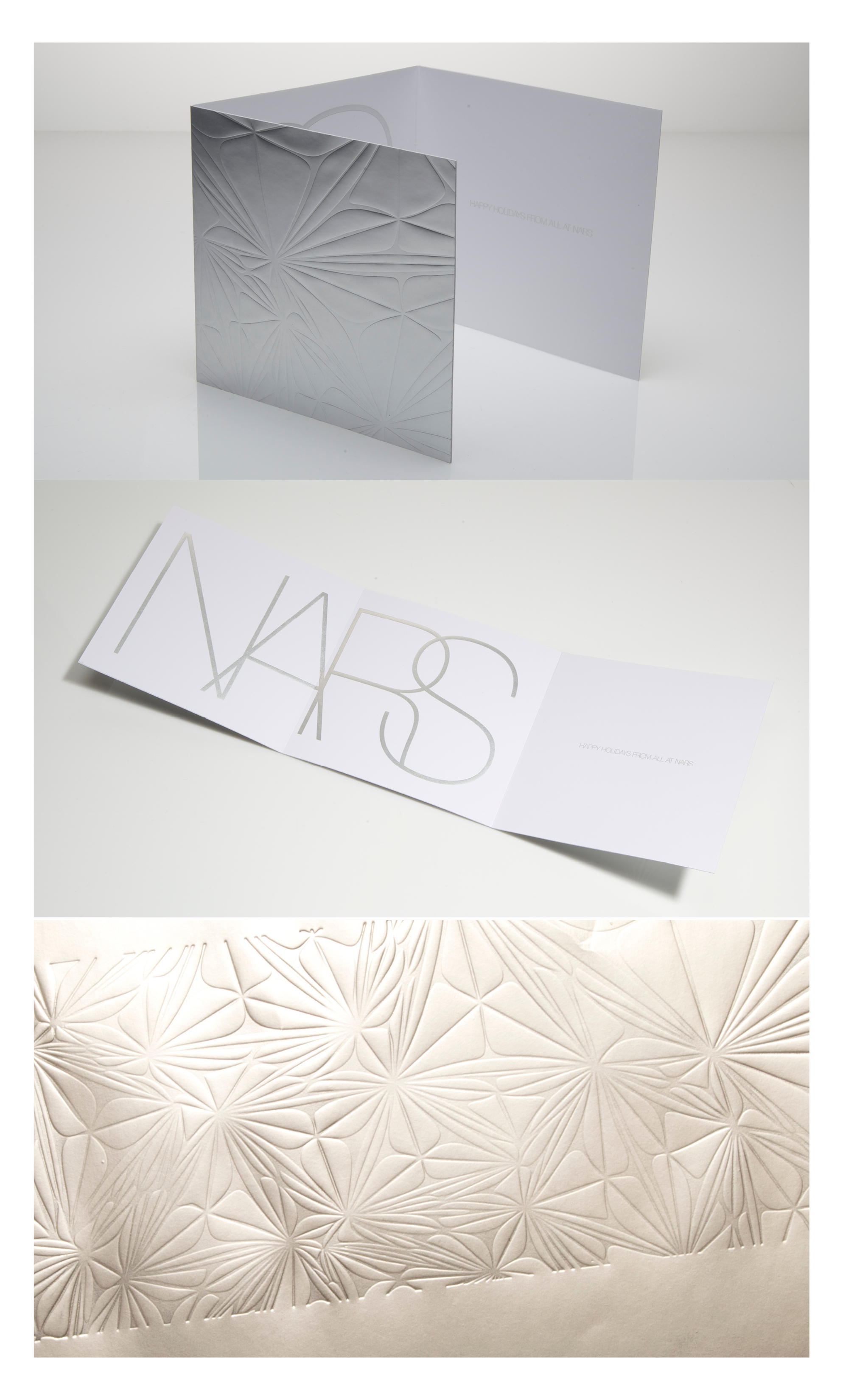 Jiaru Lin NARS 2014 Holiday Card